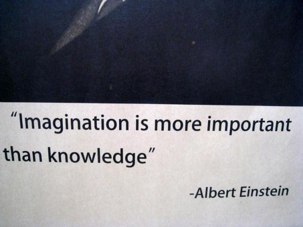 想象力比知识更重要